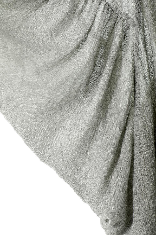 ButterflySleeveCocoonBlouseバタフライスリーブ・コクーンブラウスfromL.A.大人カジュアルに最適な海外ファッションのothers(その他インポートアイテム)のトップスやシャツ・ブラウス。透け感が人気のシアー素材のカジュアルブラウス。ヒラヒラ揺れる袖がとても可愛いデザインです。/main-10