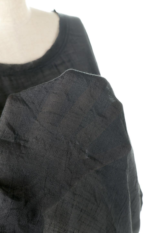 SmockedSleeveWideBlouseドルマンスリーブ・ワイドブラウスfromL.A.大人カジュアルに最適な海外ファッションのothers(その他インポートアイテム)のトップスやシャツ・ブラウス。春夏におススメのシアー素材のドルマンブラウス。カジュアルなシルエットですが、ブラックなら子供っぽくなりません。/main-14