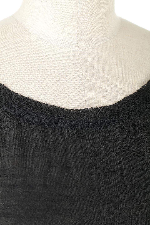 SmockedSleeveWideBlouseドルマンスリーブ・ワイドブラウスfromL.A.大人カジュアルに最適な海外ファッションのothers(その他インポートアイテム)のトップスやシャツ・ブラウス。春夏におススメのシアー素材のドルマンブラウス。カジュアルなシルエットですが、ブラックなら子供っぽくなりません。/main-6