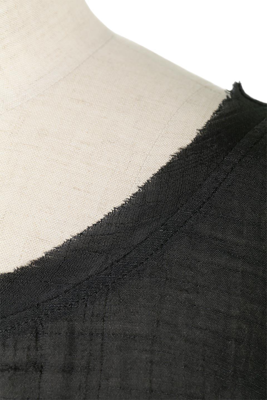 SmockedSleeveWideBlouseドルマンスリーブ・ワイドブラウスfromL.A.大人カジュアルに最適な海外ファッションのothers(その他インポートアイテム)のトップスやシャツ・ブラウス。春夏におススメのシアー素材のドルマンブラウス。カジュアルなシルエットですが、ブラックなら子供っぽくなりません。/main-7