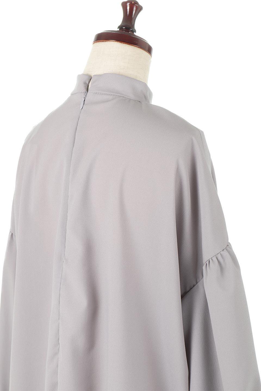 HighNeckGatheredBlouseハイネック・ギャザーブラウス大人カジュアルに最適な海外ファッションのothers(その他インポートアイテム)のトップスやシャツ・ブラウス。春にぴったりのハイネックブラウス。首元のギャザーから伸びるドレープが素敵な長袖ブラウス。/main-21