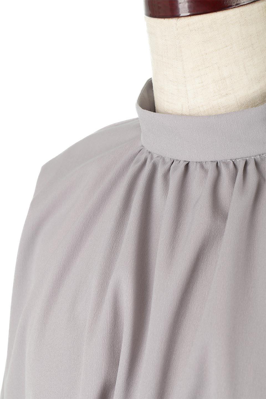 HighNeckGatheredBlouseハイネック・ギャザーブラウス大人カジュアルに最適な海外ファッションのothers(その他インポートアイテム)のトップスやシャツ・ブラウス。春にぴったりのハイネックブラウス。首元のギャザーから伸びるドレープが素敵な長袖ブラウス。/main-22