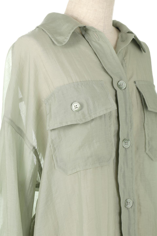 SheeredCPOBigShirtsCPO・シアービッグシャツ大人カジュアルに最適な海外ファッションのothers(その他インポートアイテム)のトップスやシャツ・ブラウス。大人気。透け感のあるシアー素材を使用したビッグシャツ。/main-11