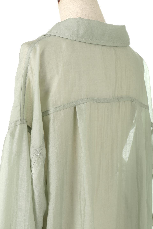 SheeredCPOBigShirtsCPO・シアービッグシャツ大人カジュアルに最適な海外ファッションのothers(その他インポートアイテム)のトップスやシャツ・ブラウス。大人気。透け感のあるシアー素材を使用したビッグシャツ。/main-12