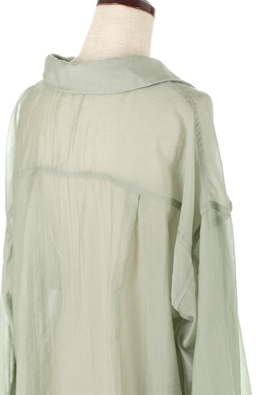 SheeredCPOBigShirtsCPO・シアービッグシャツ大人カジュアルに最適な海外ファッションのothers(その他インポートアイテム)のトップスやシャツ・ブラウス。大人気。透け感のあるシアー素材を使用したビッグシャツ。/main-13