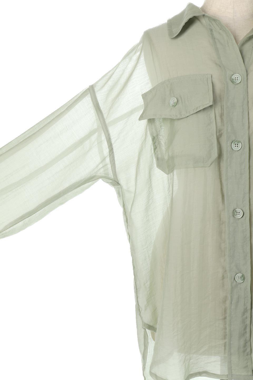 SheeredCPOBigShirtsCPO・シアービッグシャツ大人カジュアルに最適な海外ファッションのothers(その他インポートアイテム)のトップスやシャツ・ブラウス。大人気。透け感のあるシアー素材を使用したビッグシャツ。/main-14