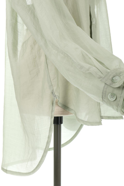 SheeredCPOBigShirtsCPO・シアービッグシャツ大人カジュアルに最適な海外ファッションのothers(その他インポートアイテム)のトップスやシャツ・ブラウス。大人気。透け感のあるシアー素材を使用したビッグシャツ。/main-15