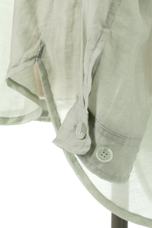SheeredCPOBigShirtsCPO・シアービッグシャツ大人カジュアルに最適な海外ファッションのothers(その他インポートアイテム)のトップスやシャツ・ブラウス。大人気。透け感のあるシアー素材を使用したビッグシャツ。/main-16