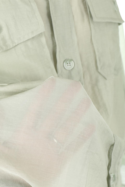 SheeredCPOBigShirtsCPO・シアービッグシャツ大人カジュアルに最適な海外ファッションのothers(その他インポートアイテム)のトップスやシャツ・ブラウス。大人気。透け感のあるシアー素材を使用したビッグシャツ。/main-17