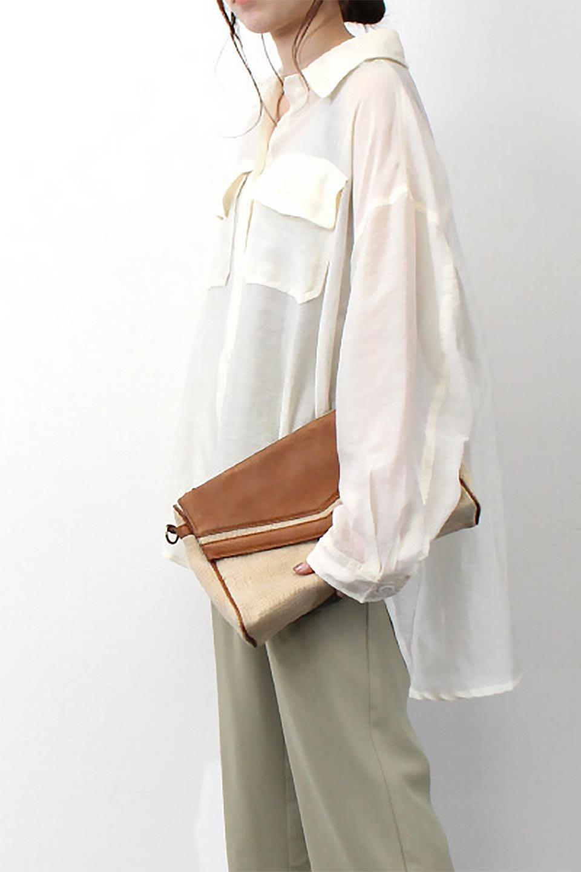 SheeredCPOBigShirtsCPO・シアービッグシャツ大人カジュアルに最適な海外ファッションのothers(その他インポートアイテム)のトップスやシャツ・ブラウス。大人気。透け感のあるシアー素材を使用したビッグシャツ。/main-19