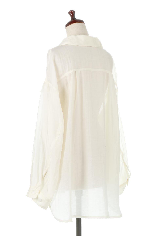 SheeredCPOBigShirtsCPO・シアービッグシャツ大人カジュアルに最適な海外ファッションのothers(その他インポートアイテム)のトップスやシャツ・ブラウス。大人気。透け感のあるシアー素材を使用したビッグシャツ。/main-8