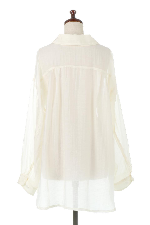 SheeredCPOBigShirtsCPO・シアービッグシャツ大人カジュアルに最適な海外ファッションのothers(その他インポートアイテム)のトップスやシャツ・ブラウス。大人気。透け感のあるシアー素材を使用したビッグシャツ。/main-9