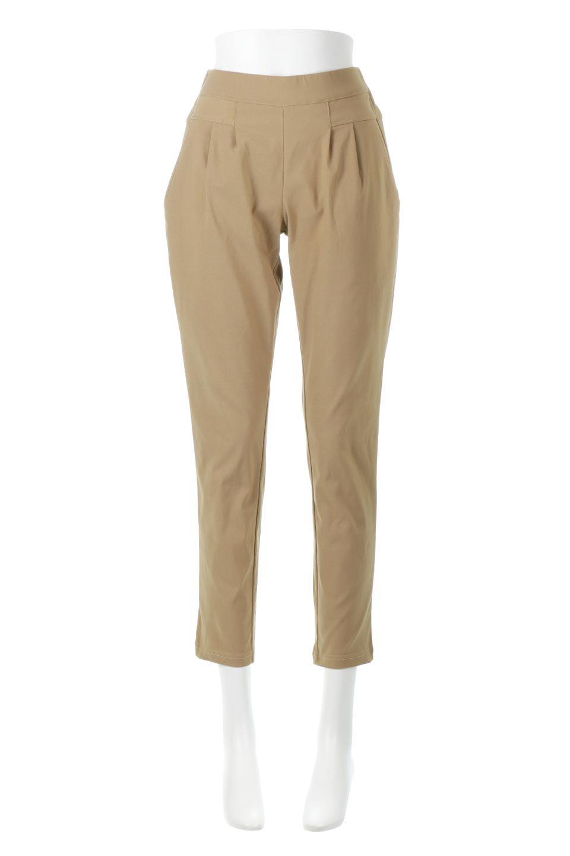 Hi-StretchTuckedPantsハイストレッチ・美脚パンツ大人カジュアルに最適な海外ファッションのothers(その他インポートアイテム)のボトムやパンツ。大人気のストレッチ美脚パンツが素材を新たに新入荷。驚きの履き心地を実現、リピート確実の超おすすめパンツ。/main-5