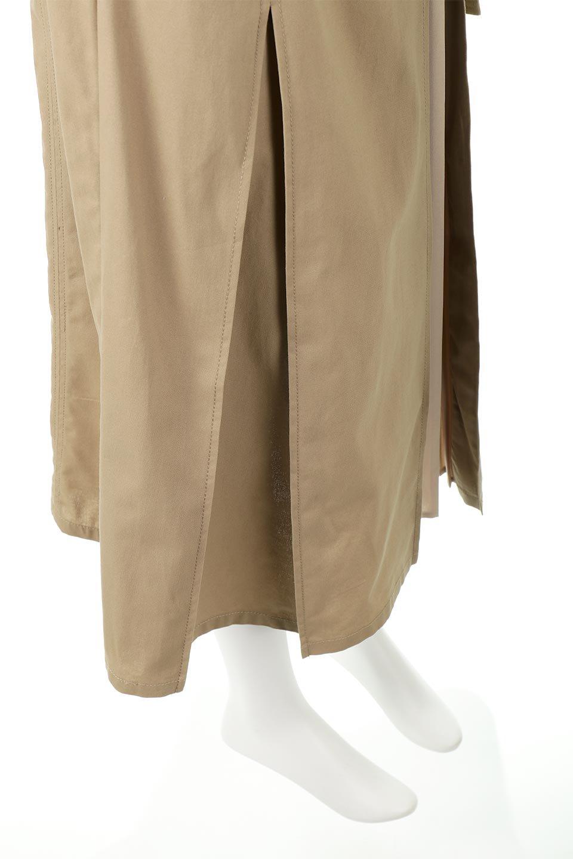 PleatedPanelFlareSkirtプリーツ切り替え・フレアスカート大人カジュアルに最適な海外ファッションのothers(その他インポートアイテム)のボトムやスカート。タックの合間からプリーツが覗く、アシメデザインのフレアスカート。左右で深さの違うタックとプリーツの切り替えがアクセント。/main-24