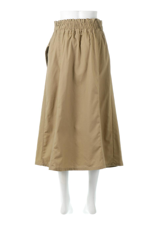 PleatedPanelFlareSkirtプリーツ切り替え・フレアスカート大人カジュアルに最適な海外ファッションのothers(その他インポートアイテム)のボトムやスカート。タックの合間からプリーツが覗く、アシメデザインのフレアスカート。左右で深さの違うタックとプリーツの切り替えがアクセント。/main-4