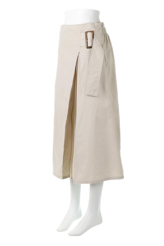 PleatedPanelFlareSkirtプリーツ切り替え・フレアスカート大人カジュアルに最適な海外ファッションのothers(その他インポートアイテム)のボトムやスカート。タックの合間からプリーツが覗く、アシメデザインのフレアスカート。左右で深さの違うタックとプリーツの切り替えがアクセント。/main-6