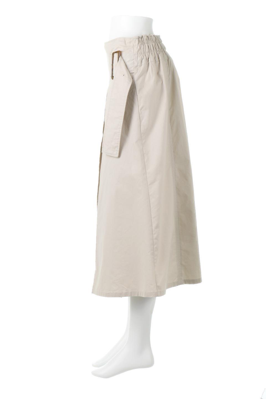 PleatedPanelFlareSkirtプリーツ切り替え・フレアスカート大人カジュアルに最適な海外ファッションのothers(その他インポートアイテム)のボトムやスカート。タックの合間からプリーツが覗く、アシメデザインのフレアスカート。左右で深さの違うタックとプリーツの切り替えがアクセント。/main-7
