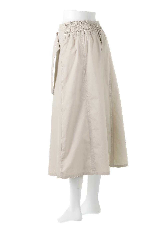 PleatedPanelFlareSkirtプリーツ切り替え・フレアスカート大人カジュアルに最適な海外ファッションのothers(その他インポートアイテム)のボトムやスカート。タックの合間からプリーツが覗く、アシメデザインのフレアスカート。左右で深さの違うタックとプリーツの切り替えがアクセント。/main-8