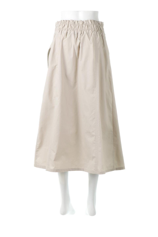 PleatedPanelFlareSkirtプリーツ切り替え・フレアスカート大人カジュアルに最適な海外ファッションのothers(その他インポートアイテム)のボトムやスカート。タックの合間からプリーツが覗く、アシメデザインのフレアスカート。左右で深さの違うタックとプリーツの切り替えがアクセント。/main-9