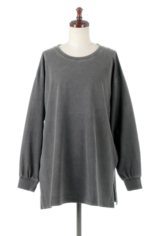 SideSlitLongSleeveBigTeeサイドスリット・ビッグロンT大人カジュアルに最適な海外ファッションのothers(その他インポートアイテム)のトップスやカットソー。ヘビーウエイトでルーズ&ビッグなロンT。普通のTシャツよりも肉厚で、しっかりした素材を使用しています。