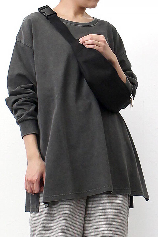 SideSlitLongSleeveBigTeeサイドスリット・ビッグロンT大人カジュアルに最適な海外ファッションのothers(その他インポートアイテム)のトップスやカットソー。ヘビーウエイトでルーズ&ビッグなロンT。普通のTシャツよりも肉厚で、しっかりした素材を使用しています。/main-34