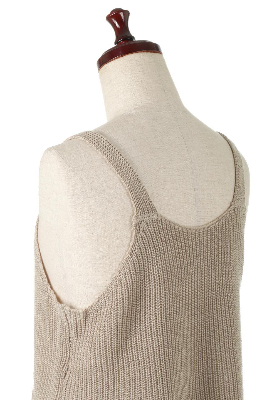 SideSlitKnitCamisoleサイドスリット・ニットキャミソール大人カジュアルに最適な海外ファッションのothers(その他インポートアイテム)のトップスやニット・セーター。ミニマルなデザインが可愛いニットのキャミソール。風通しの良い肩畦編みで夏まで楽しめるアイテムです。/main-12