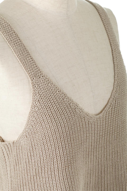 SideSlitKnitCamisoleサイドスリット・ニットキャミソール大人カジュアルに最適な海外ファッションのothers(その他インポートアイテム)のトップスやニット・セーター。ミニマルなデザインが可愛いニットのキャミソール。風通しの良い肩畦編みで夏まで楽しめるアイテムです。/main-14