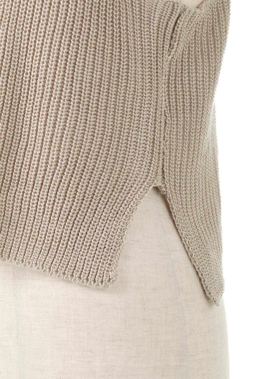 SideSlitKnitCamisoleサイドスリット・ニットキャミソール大人カジュアルに最適な海外ファッションのothers(その他インポートアイテム)のトップスやニット・セーター。ミニマルなデザインが可愛いニットのキャミソール。風通しの良い肩畦編みで夏まで楽しめるアイテムです。/main-15