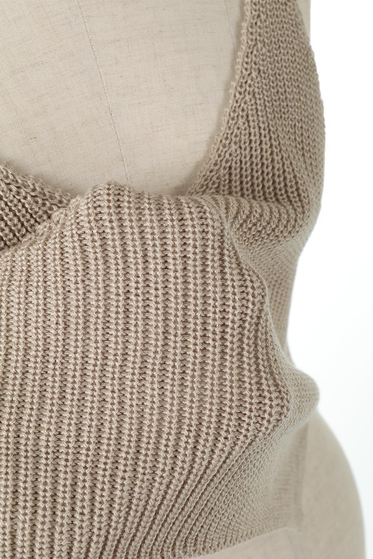 SideSlitKnitCamisoleサイドスリット・ニットキャミソール大人カジュアルに最適な海外ファッションのothers(その他インポートアイテム)のトップスやニット・セーター。ミニマルなデザインが可愛いニットのキャミソール。風通しの良い肩畦編みで夏まで楽しめるアイテムです。/main-16