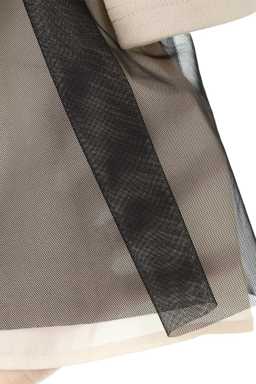 SideTullePullOverTopサイドチュール・プルオーバー大人カジュアルに最適な海外ファッションのothers(その他インポートアイテム)のトップスやカットソー。柔らかい風合いのチュールレースがアクセントのプルオーバートップス。丈も少し長めな所も今年のトレンドを意識したデザインで人気のアイテムです。/main-19