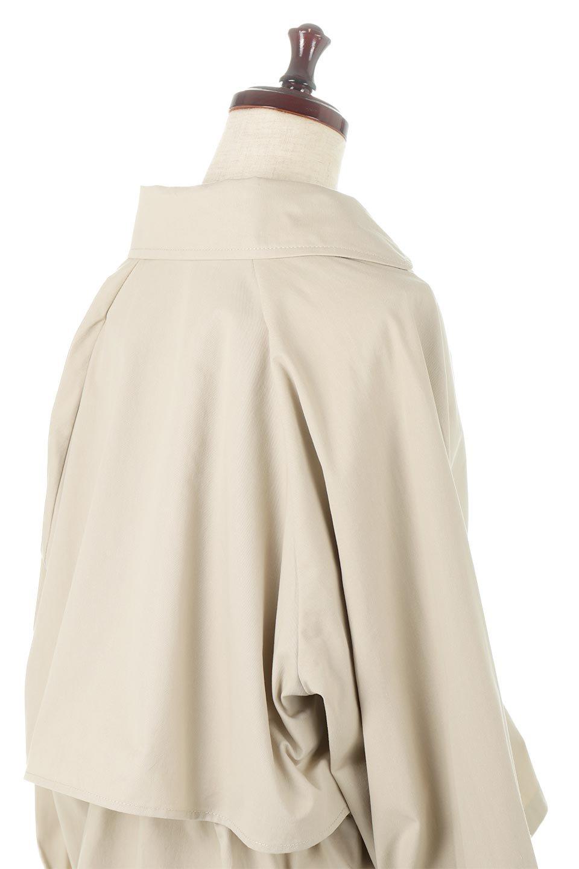 WaistTieShortTrenchJacketウエストドロスト・ショートトレンチ大人カジュアルに最適な海外ファッションのothers(その他インポートアイテム)のトップスやシャツ・ブラウス。ボリューミーな袖とコンパクトな丈感が好バランスなデザインのショートトレンチジャケット。肩線を落としたショルダーや抜き襟でゆったり羽織れるラフなシルエットが今年顔。/main-16