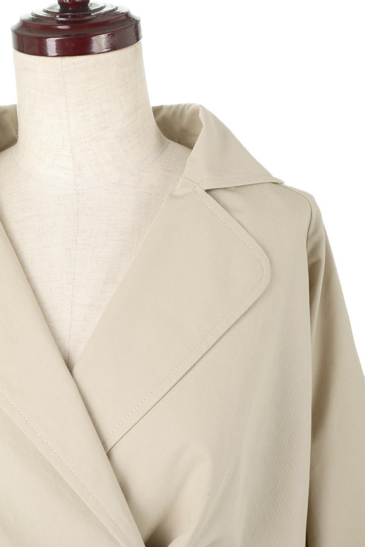 WaistTieShortTrenchJacketウエストドロスト・ショートトレンチ大人カジュアルに最適な海外ファッションのothers(その他インポートアイテム)のトップスやシャツ・ブラウス。ボリューミーな袖とコンパクトな丈感が好バランスなデザインのショートトレンチジャケット。肩線を落としたショルダーや抜き襟でゆったり羽織れるラフなシルエットが今年顔。/main-18