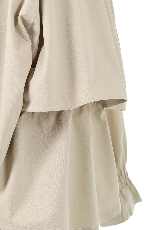 WaistTieShortTrenchJacketウエストドロスト・ショートトレンチ大人カジュアルに最適な海外ファッションのothers(その他インポートアイテム)のトップスやシャツ・ブラウス。ボリューミーな袖とコンパクトな丈感が好バランスなデザインのショートトレンチジャケット。肩線を落としたショルダーや抜き襟でゆったり羽織れるラフなシルエットが今年顔。/main-20