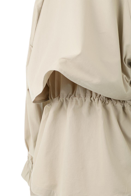 WaistTieShortTrenchJacketウエストドロスト・ショートトレンチ大人カジュアルに最適な海外ファッションのothers(その他インポートアイテム)のトップスやシャツ・ブラウス。ボリューミーな袖とコンパクトな丈感が好バランスなデザインのショートトレンチジャケット。肩線を落としたショルダーや抜き襟でゆったり羽織れるラフなシルエットが今年顔。/main-21