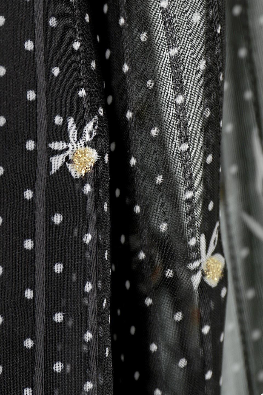 FrontOpen2WayLongDressフルオープン・花柄ワンピース大人カジュアルに最適な海外ファッションのothers(その他インポートアイテム)のワンピースやマキシワンピース。ふわっと透け感のある柔らかな生地のデザインワンピース。光にあたるとほのかに透ける柔らかな素材感のワンピースです。/main-21