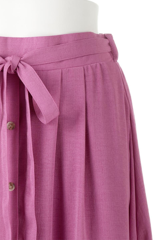FrontButtonFlareSkirtフロントボタン・フレアスカート大人カジュアルに最適な海外ファッションのothers(その他インポートアイテム)のボトムやスカート。さらっとした素材感でシルエットがキレイなフレアスカートフロントに並ぶ小さなボタンが可愛いフレアスカート。柔らかすぎない生地感で、動くたびにしっかりときれいなシルエットが保てるようになっています。/main-10