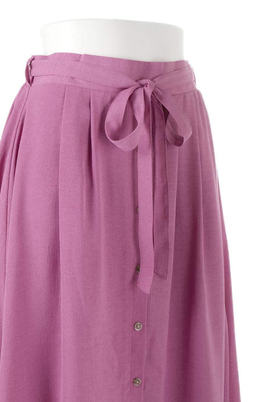 FrontButtonFlareSkirtフロントボタン・フレアスカート大人カジュアルに最適な海外ファッションのothers(その他インポートアイテム)のボトムやスカート。さらっとした素材感でシルエットがキレイなフレアスカートフロントに並ぶ小さなボタンが可愛いフレアスカート。柔らかすぎない生地感で、動くたびにしっかりときれいなシルエットが保てるようになっています。/main-11