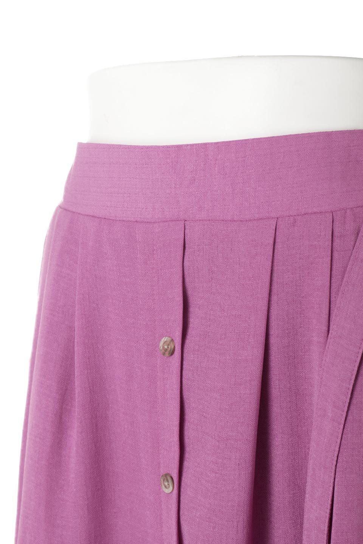 FrontButtonFlareSkirtフロントボタン・フレアスカート大人カジュアルに最適な海外ファッションのothers(その他インポートアイテム)のボトムやスカート。さらっとした素材感でシルエットがキレイなフレアスカートフロントに並ぶ小さなボタンが可愛いフレアスカート。柔らかすぎない生地感で、動くたびにしっかりときれいなシルエットが保てるようになっています。/main-13