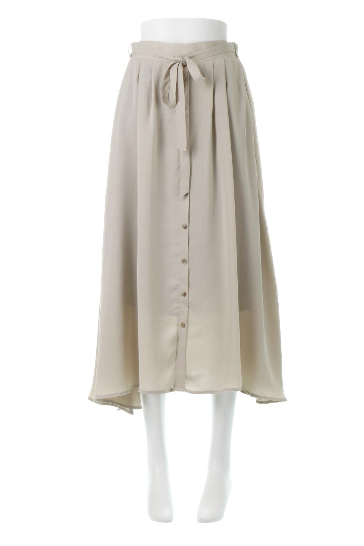 FrontButtonFlareSkirtフロントボタン・フレアスカート大人カジュアルに最適な海外ファッションのothers(その他インポートアイテム)のボトムやスカート。さらっとした素材感でシルエットがキレイなフレアスカートフロントに並ぶ小さなボタンが可愛いフレアスカート。柔らかすぎない生地感で、動くたびにしっかりときれいなシルエットが保てるようになっています。/main-5