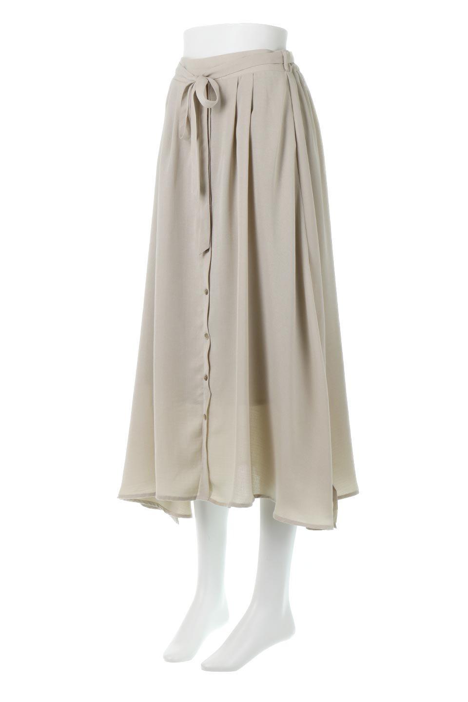 FrontButtonFlareSkirtフロントボタン・フレアスカート大人カジュアルに最適な海外ファッションのothers(その他インポートアイテム)のボトムやスカート。さらっとした素材感でシルエットがキレイなフレアスカートフロントに並ぶ小さなボタンが可愛いフレアスカート。柔らかすぎない生地感で、動くたびにしっかりときれいなシルエットが保てるようになっています。/main-6