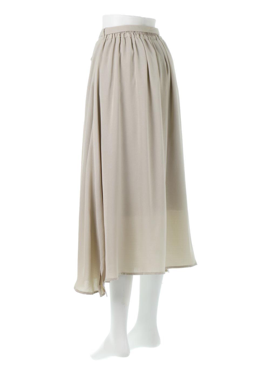 FrontButtonFlareSkirtフロントボタン・フレアスカート大人カジュアルに最適な海外ファッションのothers(その他インポートアイテム)のボトムやスカート。さらっとした素材感でシルエットがキレイなフレアスカートフロントに並ぶ小さなボタンが可愛いフレアスカート。柔らかすぎない生地感で、動くたびにしっかりときれいなシルエットが保てるようになっています。/main-8