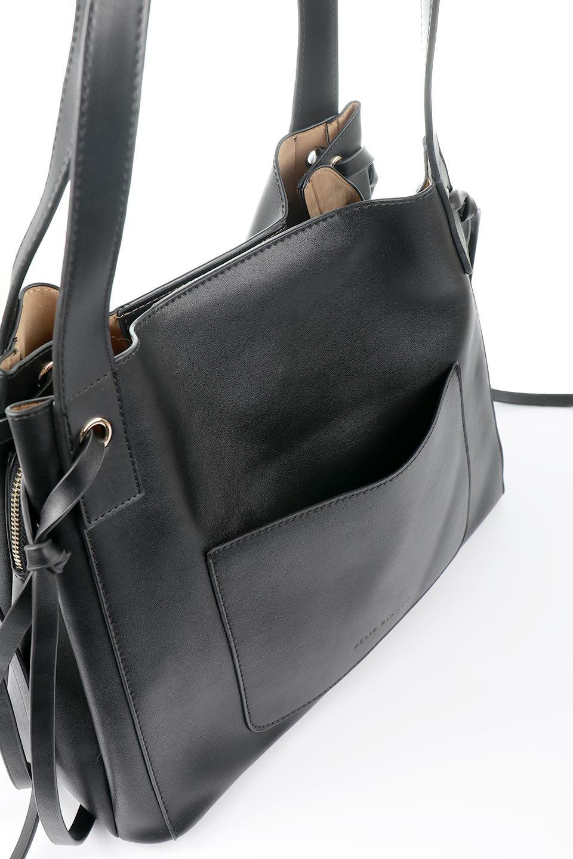 meliebiancoのLeslie(Black)センターポケット・トートバッグ/海外ファッション好きにオススメのインポートバッグとかばん、MelieBianco(メリービアンコ)のバッグやトートバッグ。荷室が別れてとても使いやすいバッグ。ファイルも入る大きめのサイズで仕事用としても活躍します。/main-7