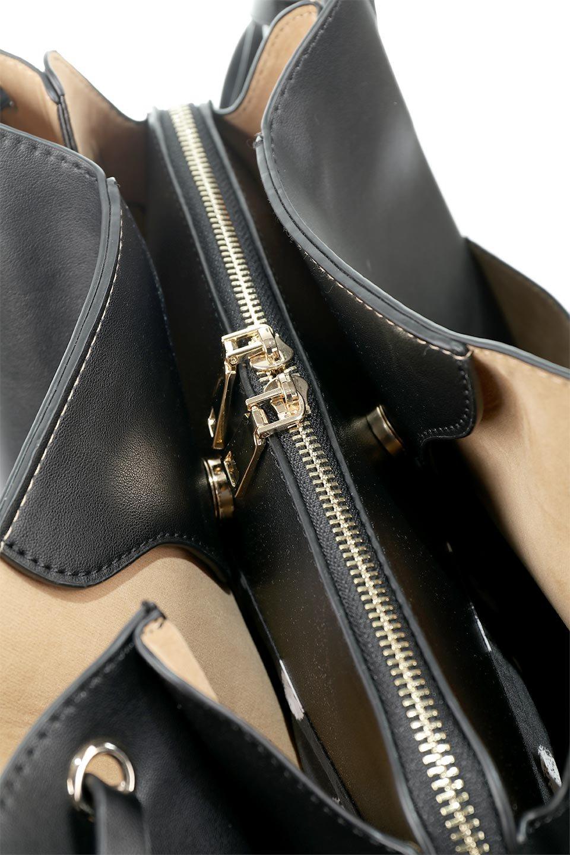 meliebiancoのLeslie(Black)センターポケット・トートバッグ/海外ファッション好きにオススメのインポートバッグとかばん、MelieBianco(メリービアンコ)のバッグやトートバッグ。荷室が別れてとても使いやすいバッグ。ファイルも入る大きめのサイズで仕事用としても活躍します。/main-8