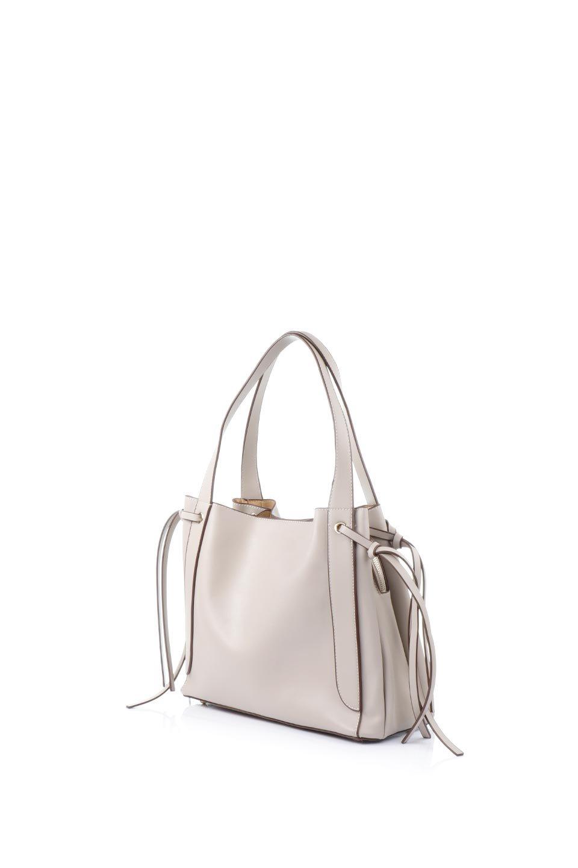 meliebiancoのLeslie(Taupe)センターポケット・トートバッグ/海外ファッション好きにオススメのインポートバッグとかばん、MelieBianco(メリービアンコ)のバッグやトートバッグ。荷室が別れてとても使いやすいバッグ。ファイルも入る大きめのサイズで仕事用としても活躍します。/main-1