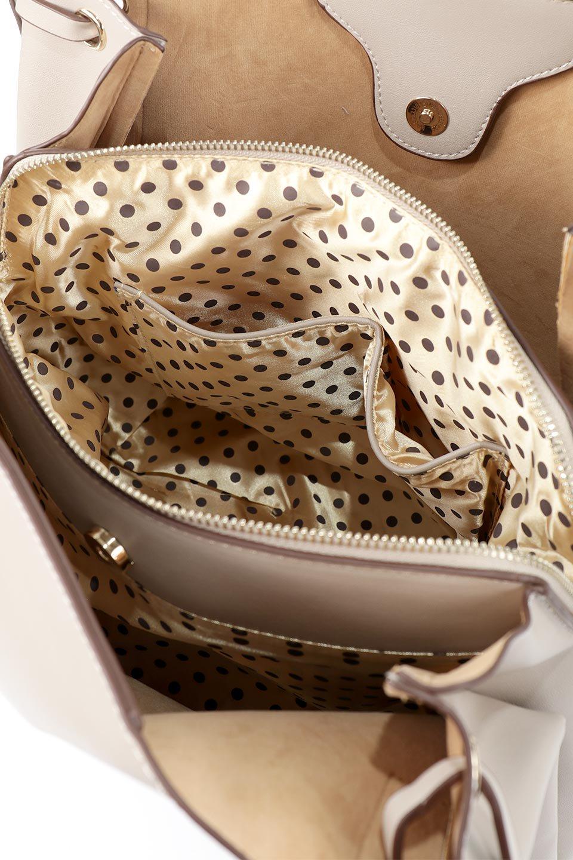meliebiancoのLeslie(Taupe)センターポケット・トートバッグ/海外ファッション好きにオススメのインポートバッグとかばん、MelieBianco(メリービアンコ)のバッグやトートバッグ。荷室が別れてとても使いやすいバッグ。ファイルも入る大きめのサイズで仕事用としても活躍します。/main-15