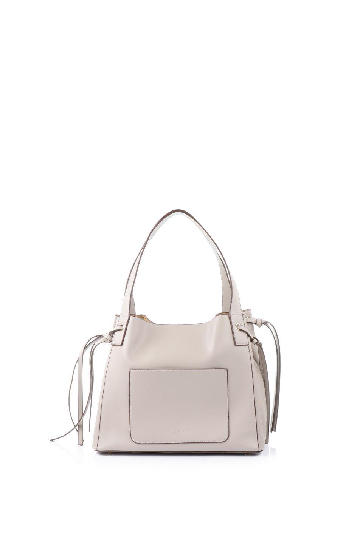 meliebiancoのLeslie(Taupe)センターポケット・トートバッグ/海外ファッション好きにオススメのインポートバッグとかばん、MelieBianco(メリービアンコ)のバッグやトートバッグ。荷室が別れてとても使いやすいバッグ。ファイルも入る大きめのサイズで仕事用としても活躍します。/main-4