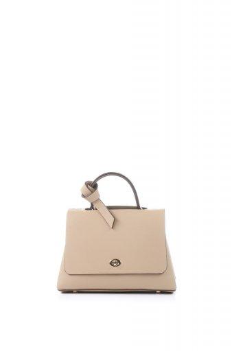 海外ファッションや大人カジュアルのためのインポートバッグ、かばんmelie bianco(メリービアンコ)のCamilla (Nude) ビーガンレザー・ミニハンドバッグ
