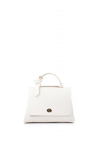 海外ファッションや大人カジュアルのためのインポートバッグ、かばんmelie bianco(メリービアンコ)のCamilla (Bone) ビーガンレザー・ミニハンドバッグ