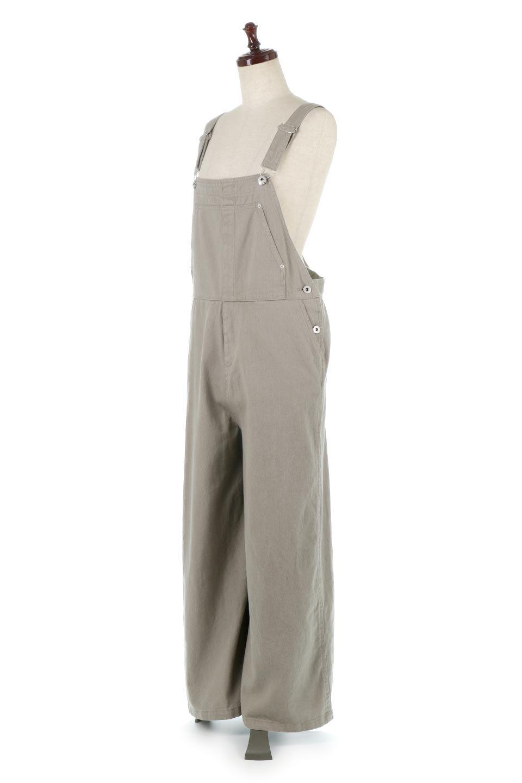 SoftCottonWideLegOverAllソフトコットン・ワイドパンツオーバーオール大人カジュアルに最適な海外ファッションのothers(その他インポートアイテム)のボトムやパンツ。ルーズでワイドなシルエットが魅力のオーバーオール。ソフトなコットン生地でこれからの季節にピッタリなアイテムです。/main-7