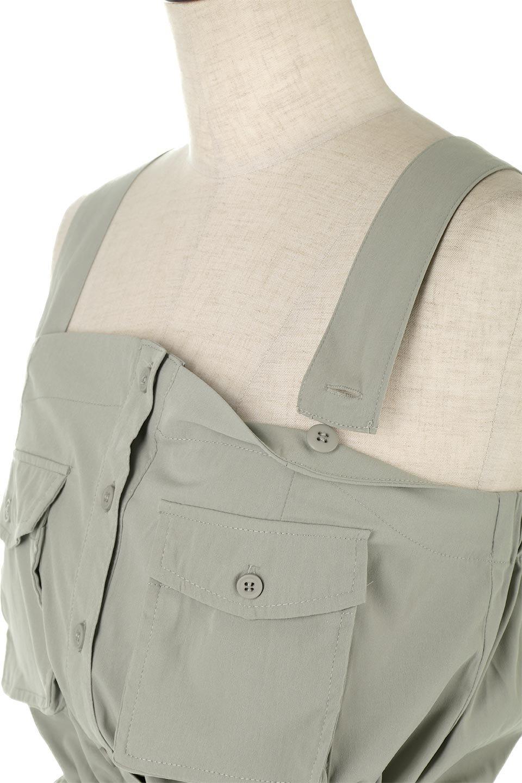 2WaySafariBareDress2Way・サファリベアワンピース大人カジュアルに最適な海外ファッションのothers(その他インポートアイテム)のワンピースやミディワンピース。シャリ感のある素材を使用したサファリルックの2Wayワンピース。肩ひもはボタンでの脱着が可能で、ベアワンピとしても楽しめます。/main-19